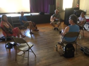 Songwriter Circle @ Nevada City Oddfellows Hall