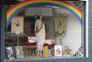 Suffragest Window Display